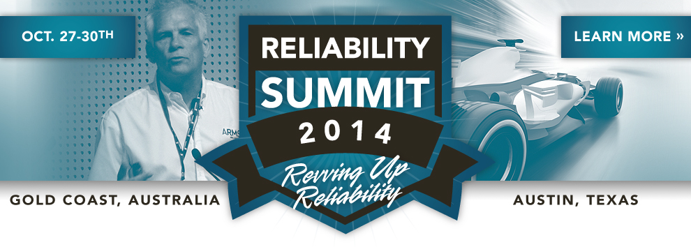 Reliability Summit Monochrome